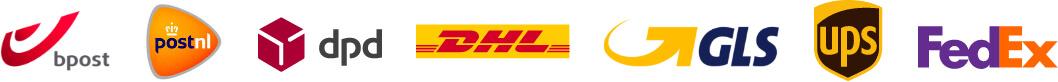 Bpost PostNL DPD DHL GLS UPS FedEX