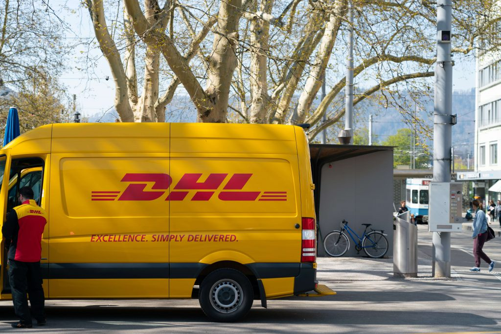 DHL Delivers a Parcel