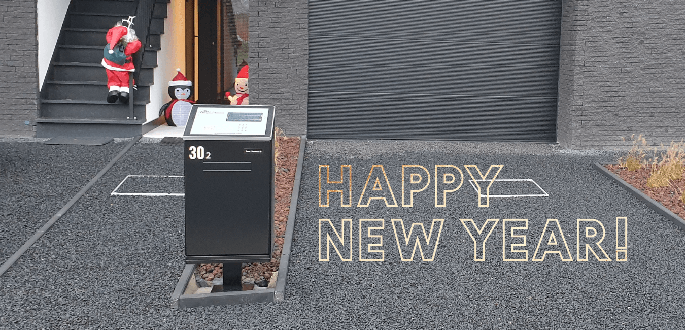 Happy New Year from ParcelHome, buy you black ParcelHome now!
