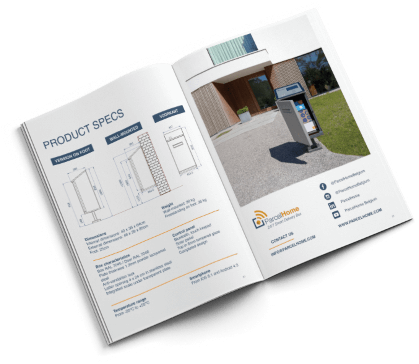 Open ParcelHome infobrochure