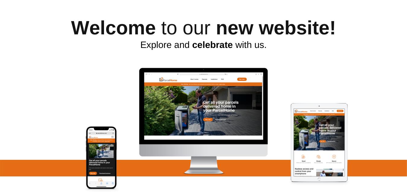 New ParcelHome Website